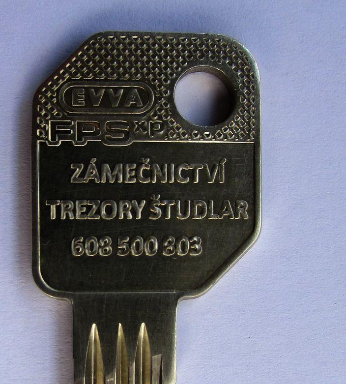 Hlava klíče - zákaznický profil FPS ZP Študlar