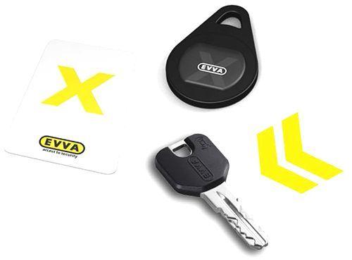 Klíč ICS EVVA sčipem XESAR