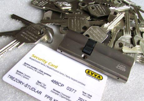 řezání klíčů FAB, EVVA, MULTLOCK, GUARD